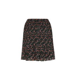 Soaked in Luxury Soaked in Luxury Floria Skirt in Black Floral Size XL