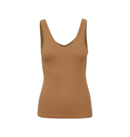 Soaked in Luxury Soaked in Luxury Valentine Tank in Brown
