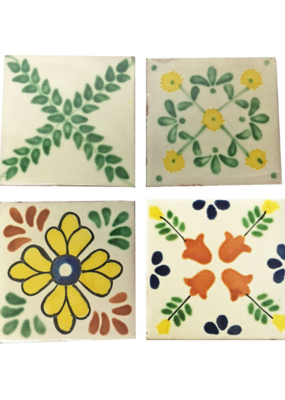 Mexican Hand Painted Coaster