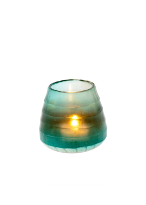 Small Cora Votive in Turquoise
