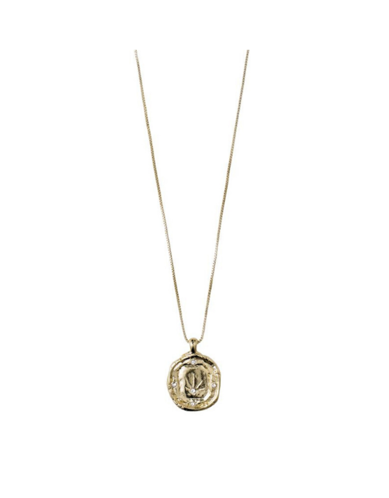 PILGRIM Pilgrim Feelings of L.A. Gold Coin Necklace