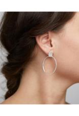 PILGRIM Pilgrim Feelings of L.A. Silver Hoop Earrings