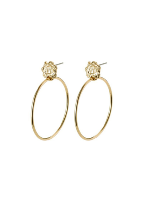PILGRIM Pilgrim Feelings of L.A. Gold Hoop Earrings