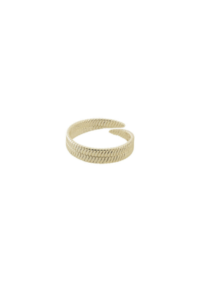 PILGRIM Pilgrim Gold-Plated Noreen Ring