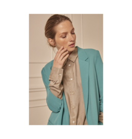 Soaked in Luxury Soaked in Luxury Shirley Blazer Teal