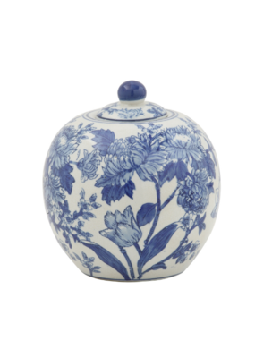 Blue and White Ginger Jar