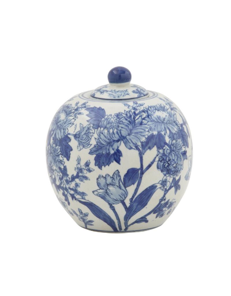 Blue and White Ginger Jar