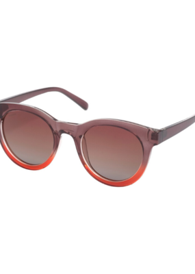 PILGRIM Pilgrim Tamara Sunglasses in Red