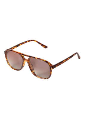 PILGRIM Pilgrim Nell Sunglasses in Brown