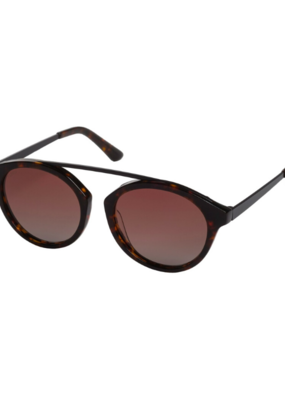 PILGRIM Pilgrim Jeanne Brown Sunglasses in Tortoiseshell