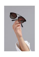 PILGRIM Jeanne Brown Sunglasses in Tortoiseshell by Pilgrim