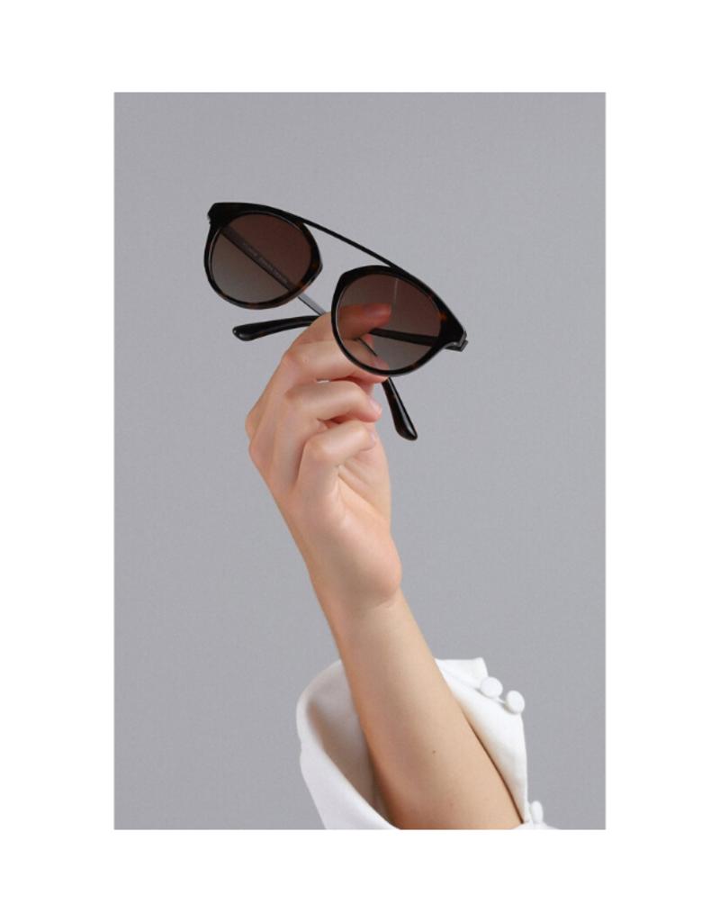 PILGRIM Pilgrim Jeanne Brown Sunglasses in Tortoiseshell