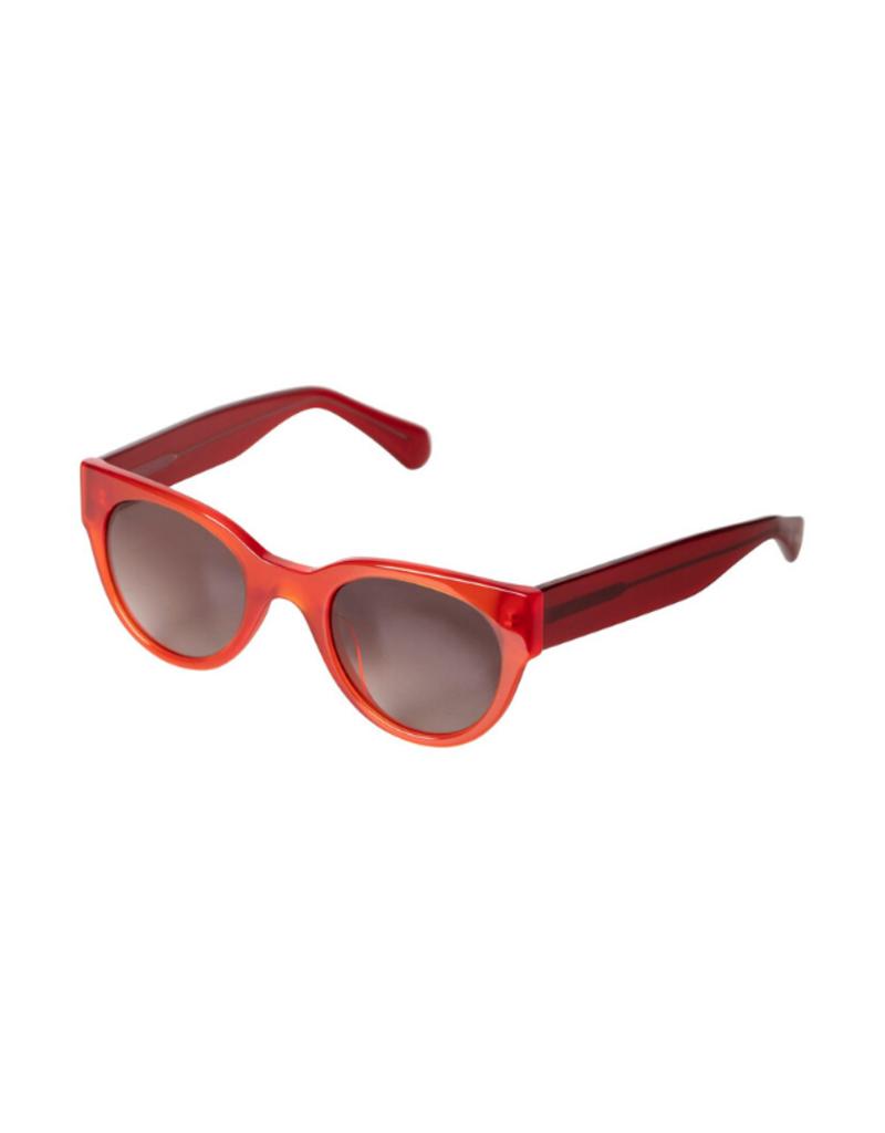 PILGRIM Pilgrim Mali Sunglasses in Red