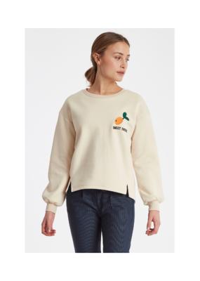 ICHI ICHI Wipa Sweater in Tapioca
