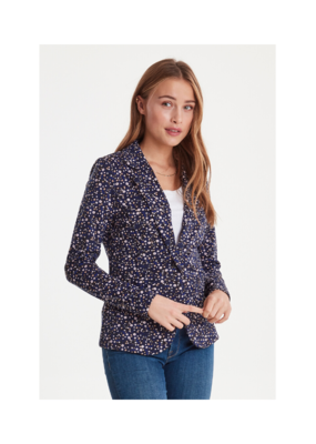 ICHI ICHI Kate Blume Blazer in Light Lilac