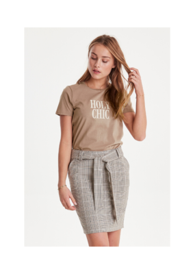 "ICHI ICHI ""Holy Chic"" Runella Tee in Natural"