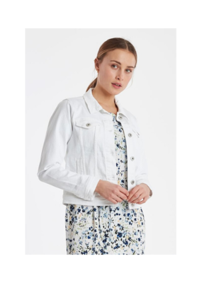 ICHI ICHI Gusto White Denim Jacket
