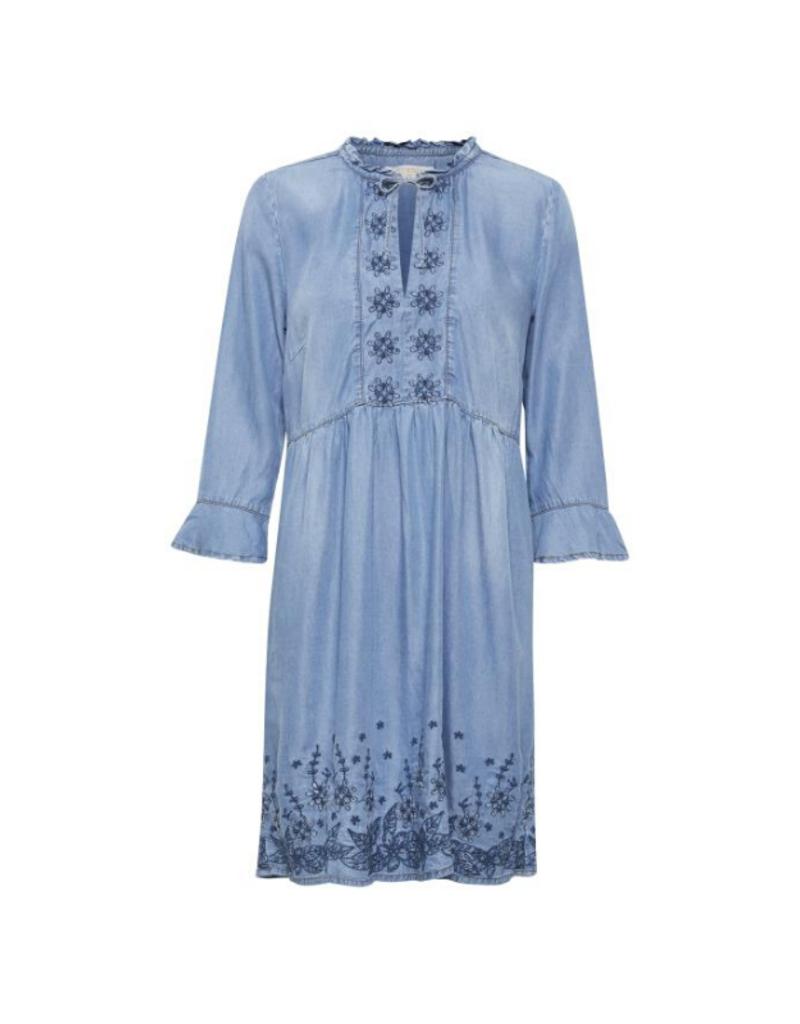 Ellis Dress in Denim Blue by Cream