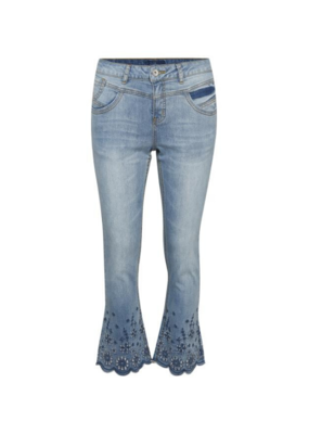 Cream Bolette Jeans with Shape Fit in Light Blue by Cream