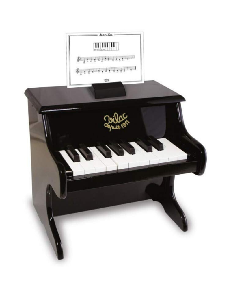 Fire the Imagination Black Toy Piano
