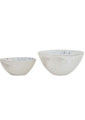 Ceramic Bowl with Reactive Glaze