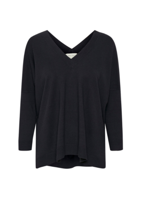 Part Two Part Two Vivian Sweater Dark Navy