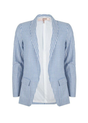 Esqualo Blazer Striped Blue