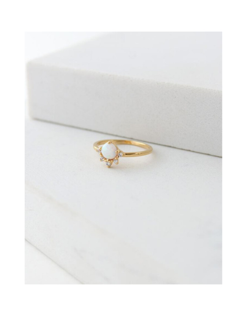 Lover's Tempo Lover's Tempo Juno Ring Gold & Opal