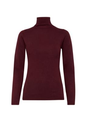 ICHI ICHI Mafa Turtleneck Sweater Winetasting