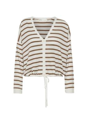 InWear Mira Stripe Cardigan by InWear