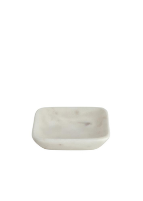 lothantique Square Marble Soap Dish Small