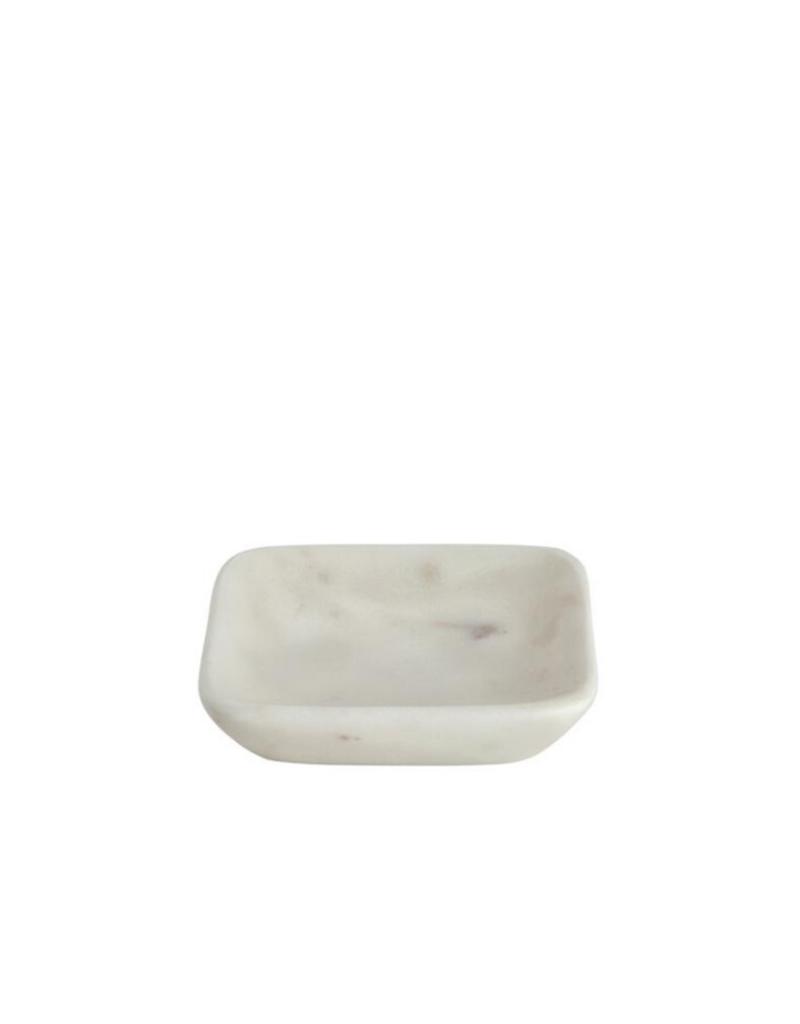 lothantique Square Marble Soap Dish Small