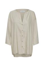 LOUNGE NINE Lounge Nine Lauren Linen Melange Shirt