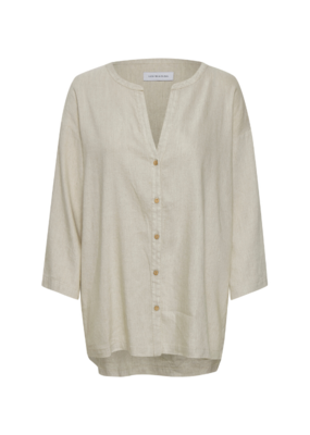 LOUNGE NINE Lounge Nini Lauren Linen Melange Shirt