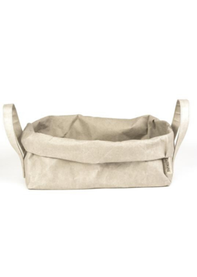 uashmama Uashmama Vassoio Paper Bag With Handles Grey