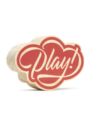 Play! Wooden Wall Art
