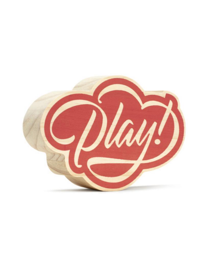 Play! Wooden Wall Art
