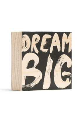 Dream Big Wooden Wall Art