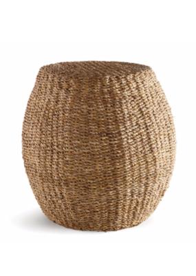 Napa Home & Garden Seagrass Hourglass Pouf