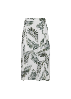 b.young b.young Fia Skirt Sea Green Leaves