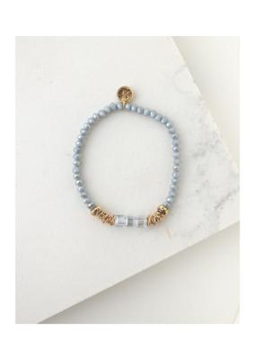 Lover's Tempo Lover's Tempo Marilla Stretch Bracelet Blue