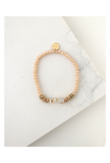 Lover's Tempo Lover's Tempo Marilla Stretch Bracelet Creamsicle