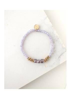 Lover's Tempo LT Marilla Stretch Bracelet Lavender