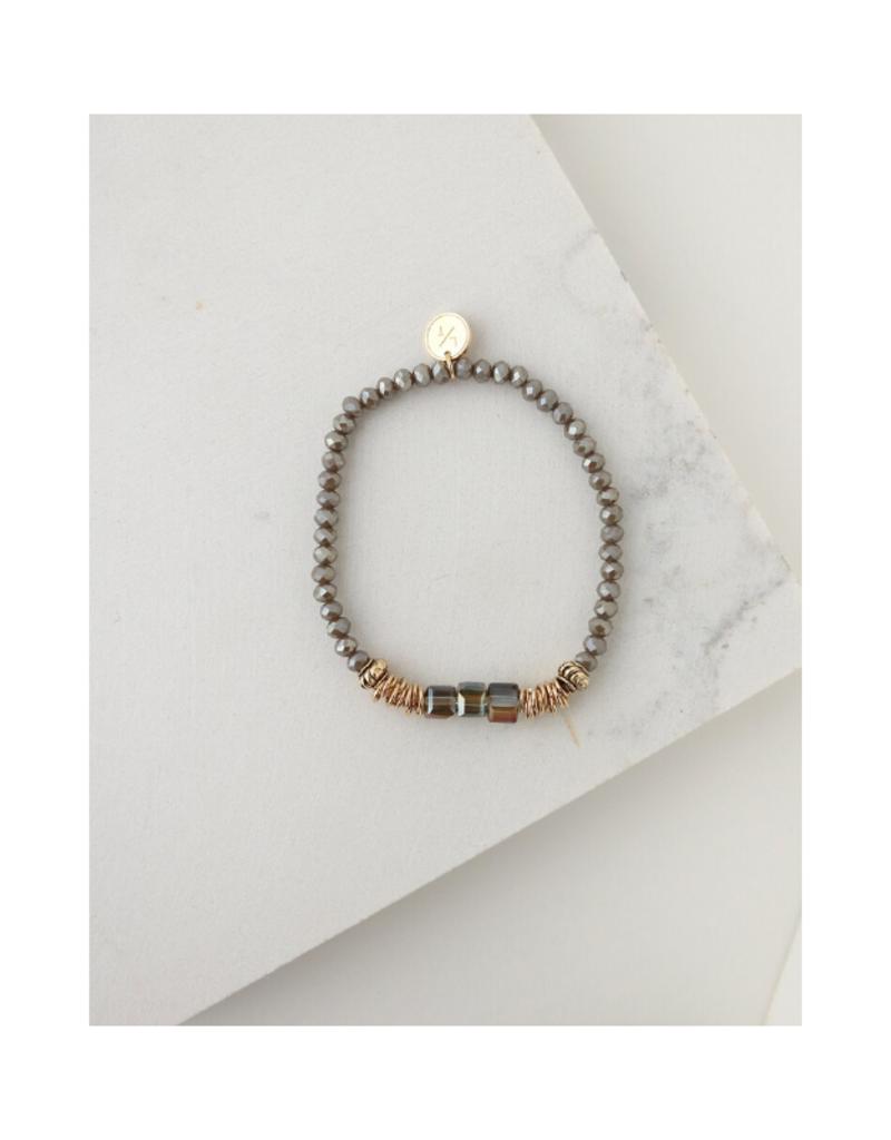 Lover's Tempo Lover's Tempo Marilla Stretch Bracelet Truffle