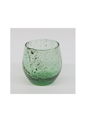 Green Recycled Vase Small