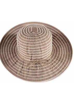 Fraas Stripe Hat Camel