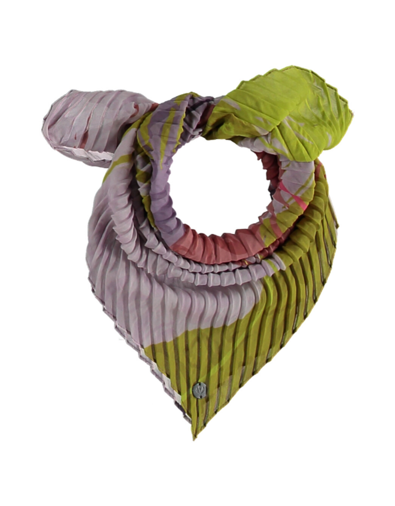 Fraas Brushstroke Crinkle Scarf Lavender