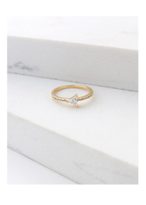 Lover's Tempo Lover's Tempo On Point Ring Gold