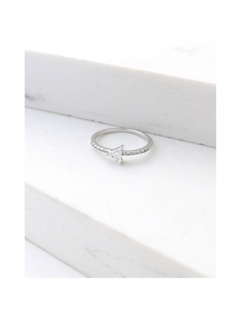 Lover's Tempo Lover's Tempo On Point Ring Silver