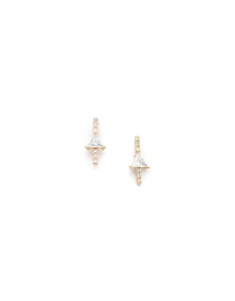 Lover's Tempo Lover's Tempo On Point Climber Earrings Gold